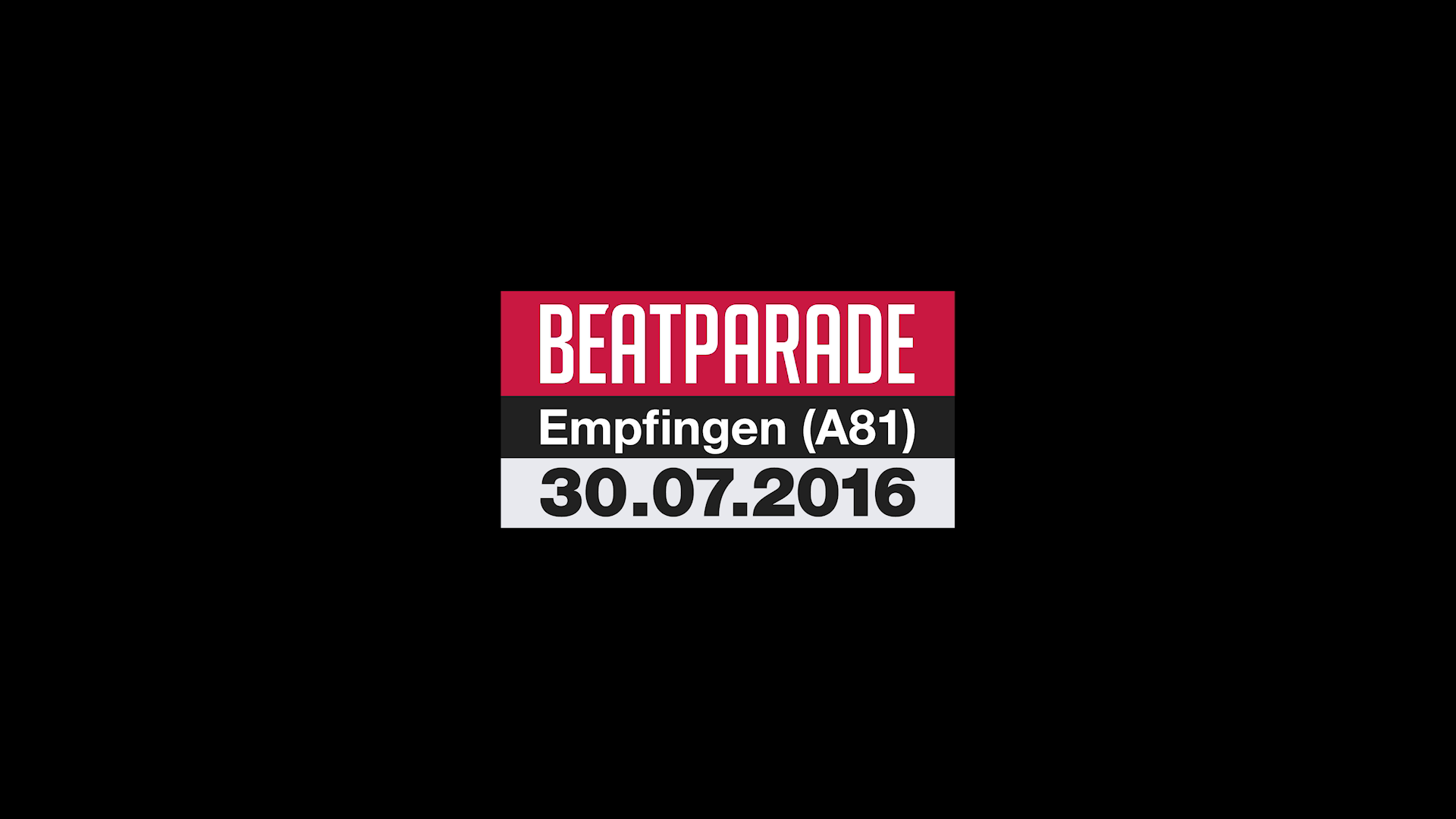 BEATPARADE 2016 - OFFICIAL AFTERMOVIE